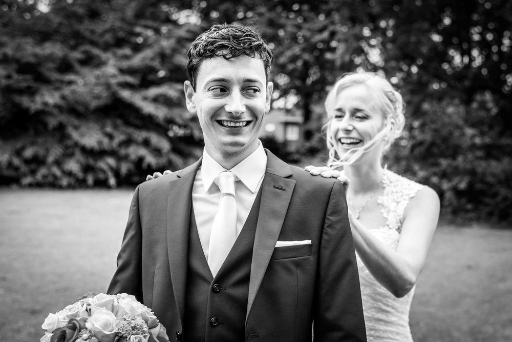 ontmoeting bruidspaar in Breda