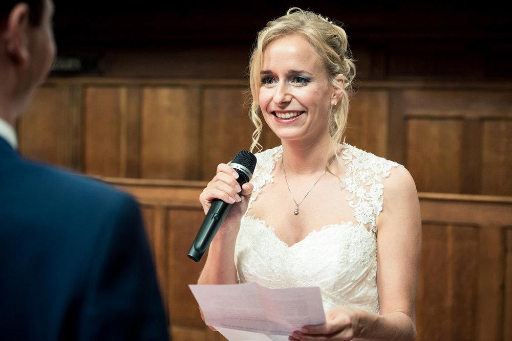trouwgelofte bruid Waalse kerk Breda