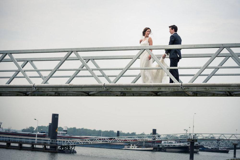 waakkade aanlegsteiger bruidsfotograaf cfoto