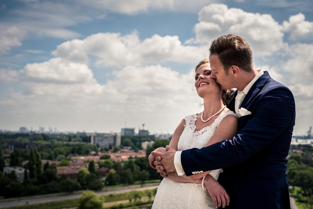 liefde op de watertoren Vlaardingen Rotterdam, trouwfotograaf Cfoto