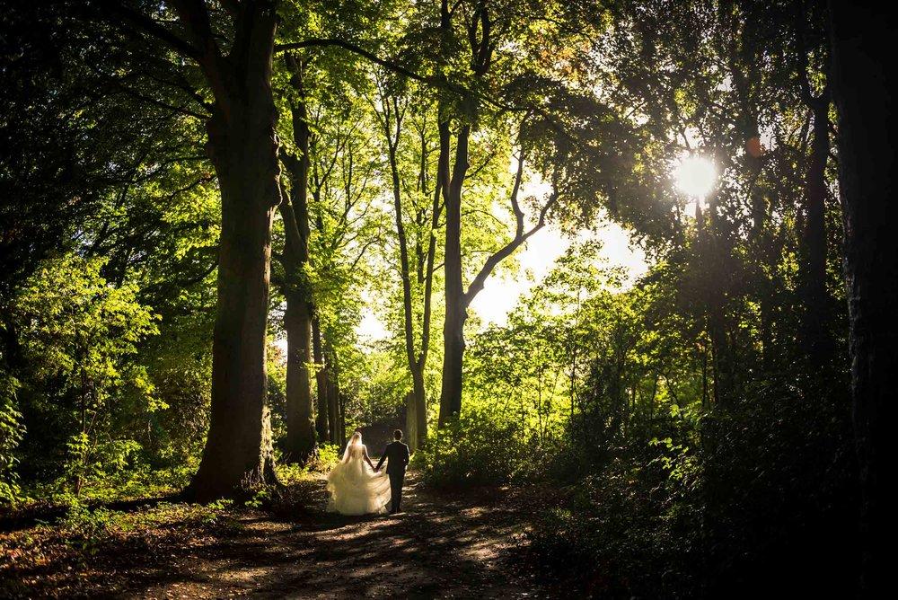 Copy of prachtige overzichtsfoto door Cfoto, bruidsfotograaf werkt veel bij Bovendonk
