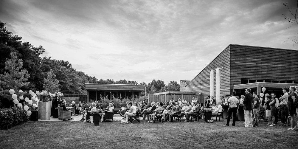 Copy of overzichtsfoto trouwen bij Lodge Visdonk, door Cfoto