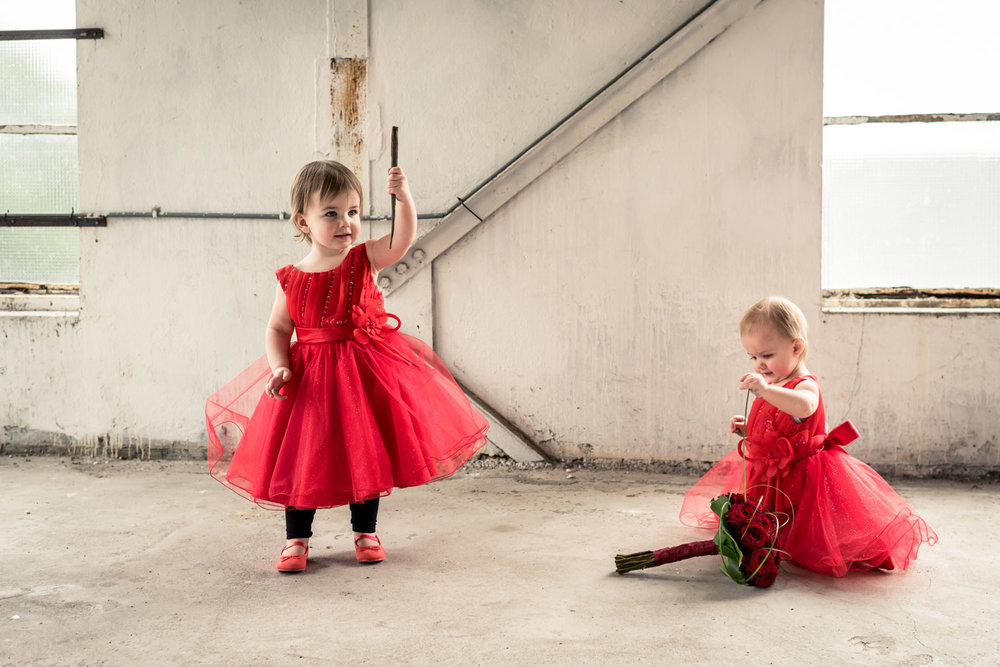 bruidskindjes trouwen meee door bruidsfotograaf uit brabant