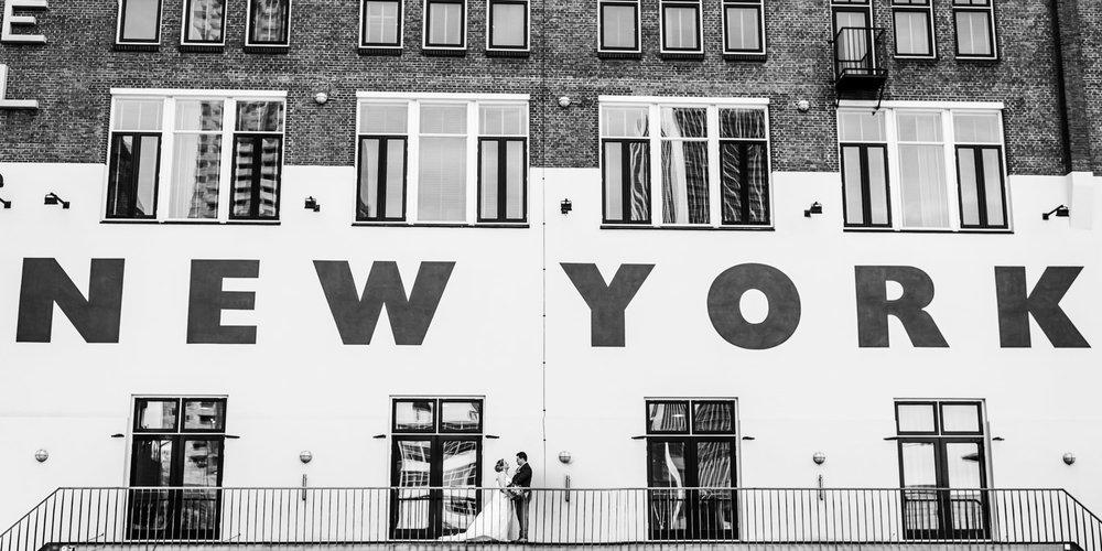 huwelijk in Rotterdam, trouwreportage gemaakt bij hotel New York