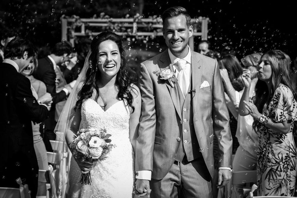 Cfoto legt met trouwfotografie de vreugde van het bruidspaar vas