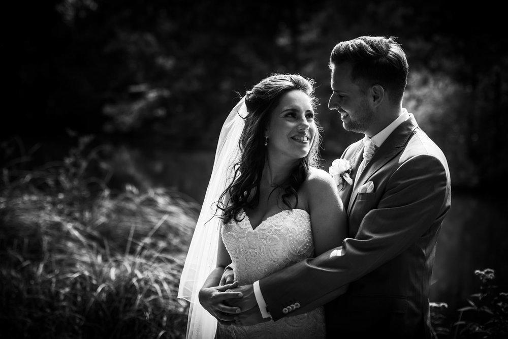 trouwfotografie door Cfoto een bruidsreportage van een recent hu
