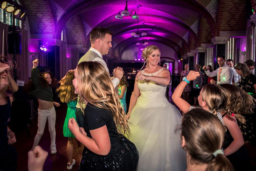kabouterfeest tijdens het huwelijk op bovendonk