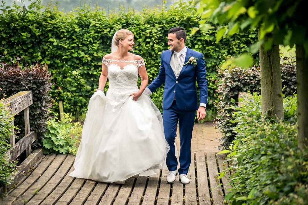 bruidsfotografie bij tielens tuinen foto gremaakt door cfoto
