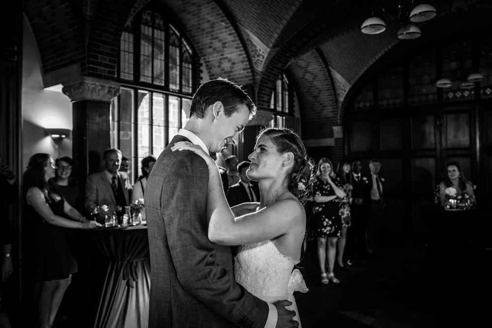 de openingsdans op het feest van het huwelijk
