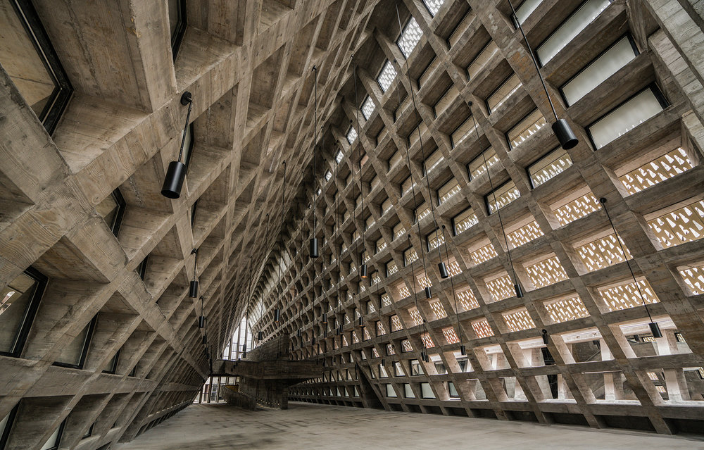 Shui Cultural Center, by West-Line Studios, from ArchDaily