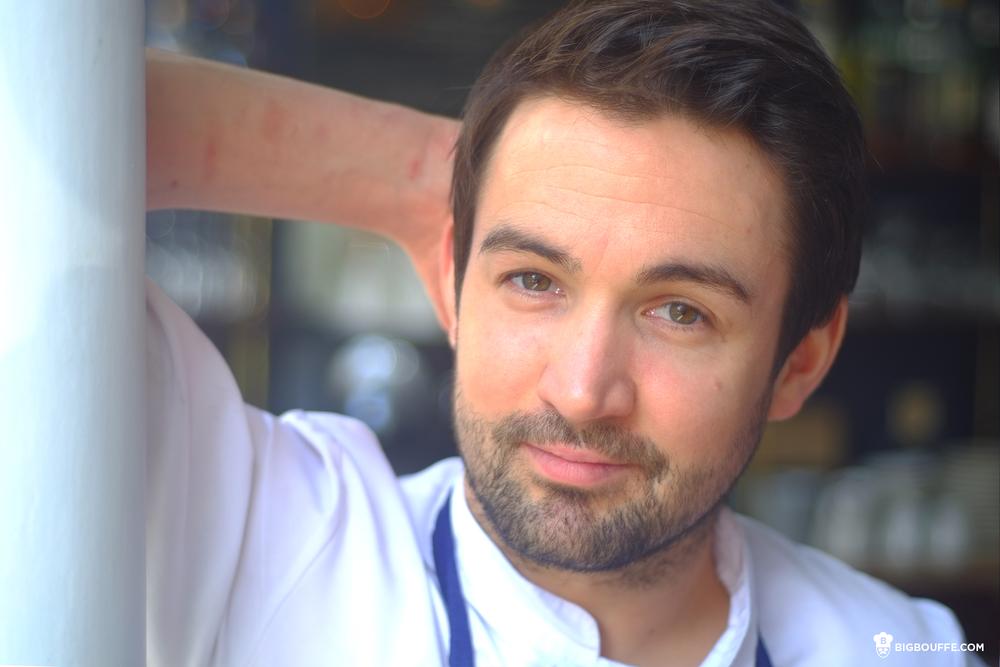 Erwan Le Gahinet, chef au Bistrotters et nouveau membre des Jeunes Restaurateurs