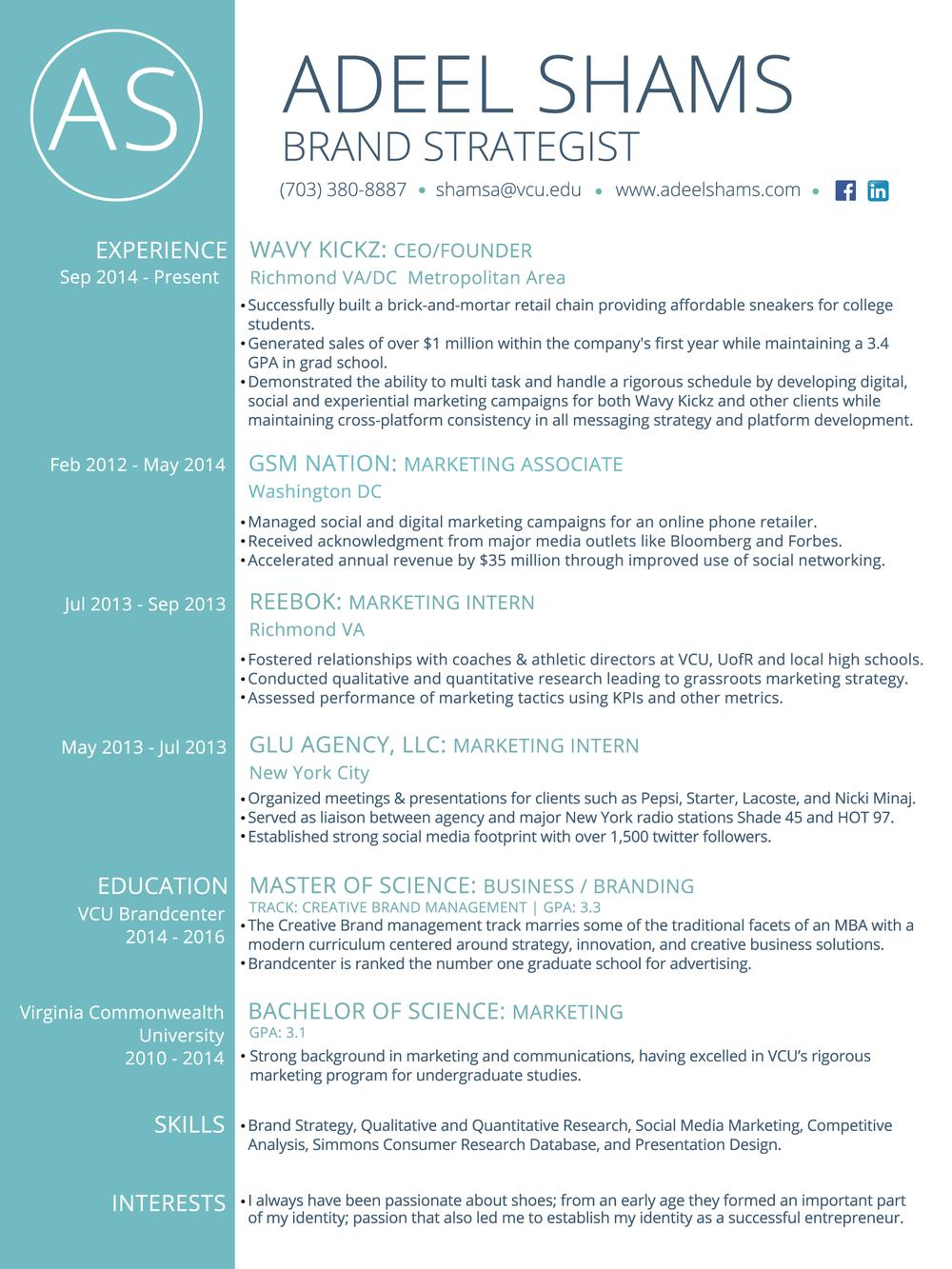 brand strategist - Digital Strategist Resume