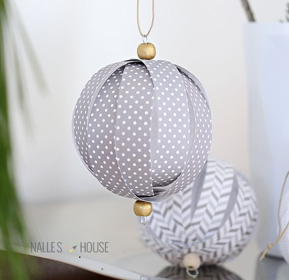 Paper Ornaments - There are so many good ones that I'm directing you to my Pinterest page where they are all listed. These are great projects to do with your kids on snow days!
