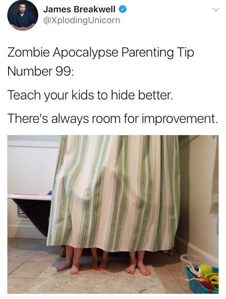 My favorite zombie apocalypse tip