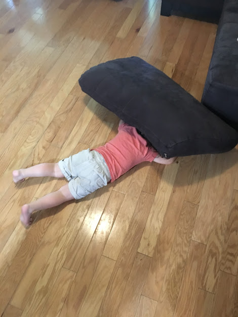 O hiding under pillow.JPG
