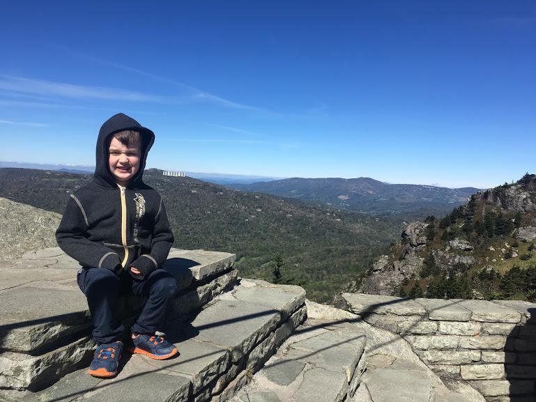 B on Grandfather Mountain.JPG
