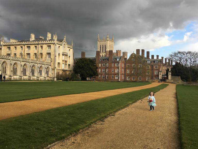 Running through Cambridge, 2019