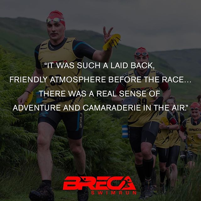 6 quotes to inspire you to enter a Breca Swimrun in 2017. No. 2️⃣