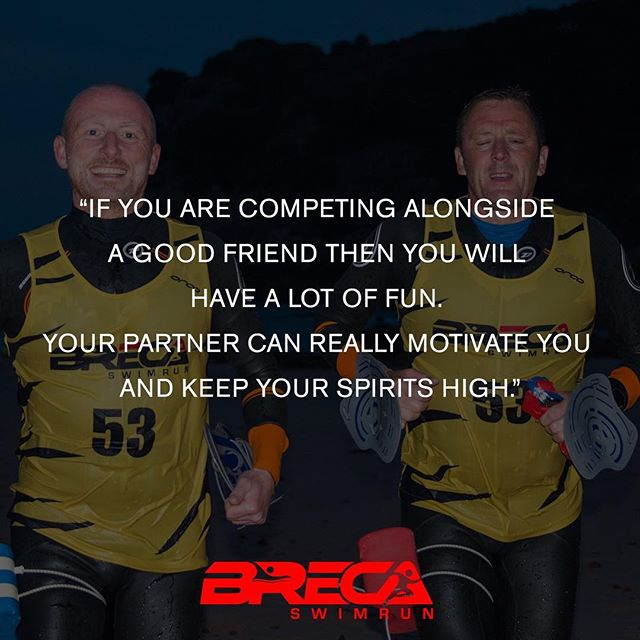 Six quotes that will inspire you to enter a Breca Swimrun event in 2017 No. 4️⃣️