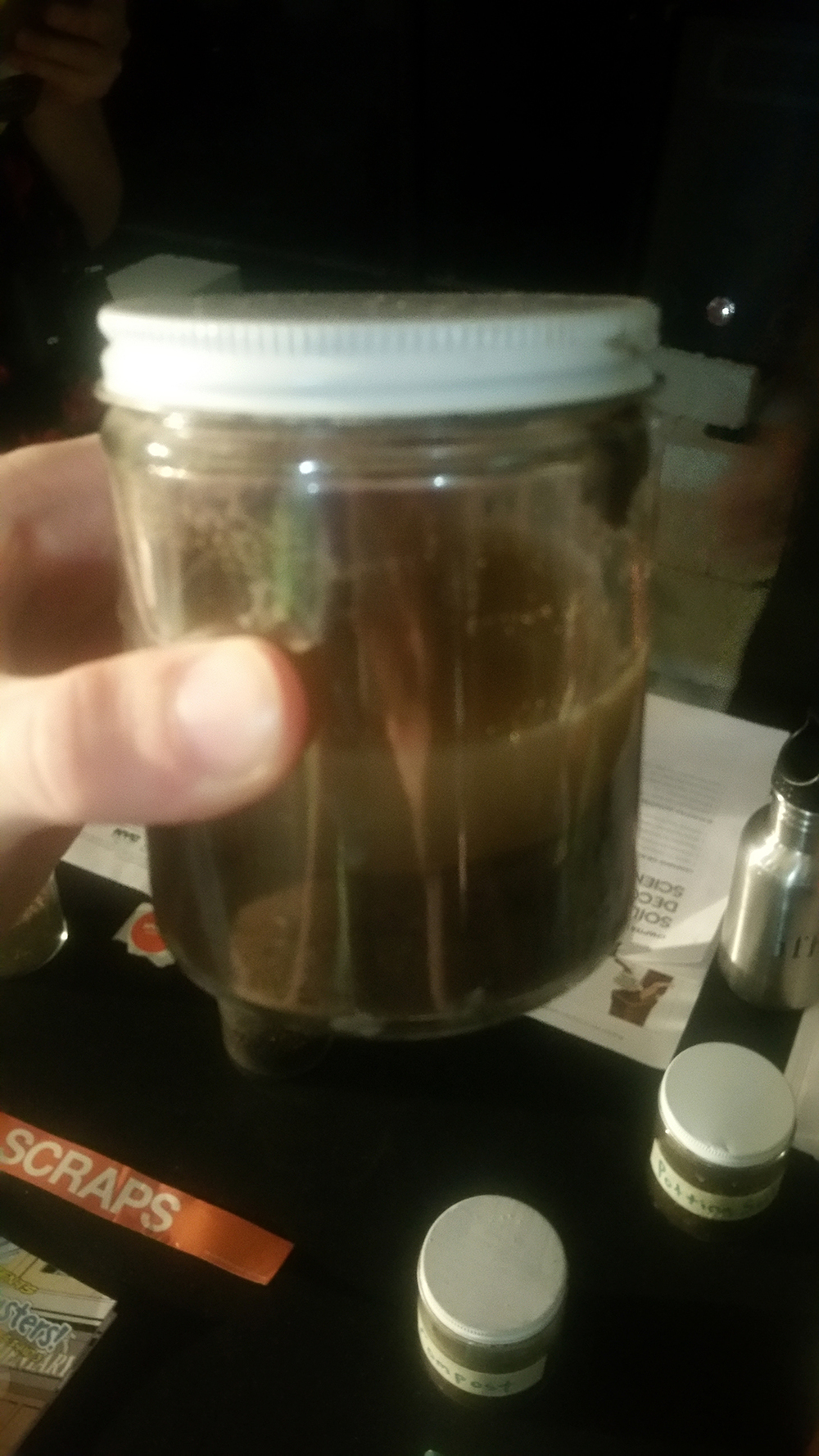 Soil Composition Test jar