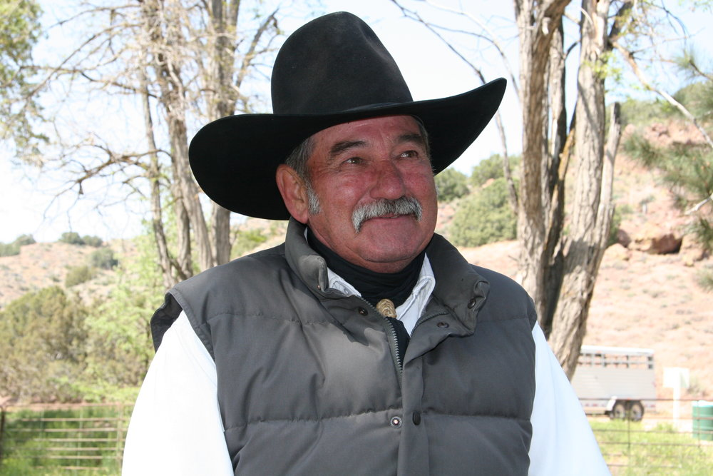 Bruce Ryan, cowboy, Tejon Ranch