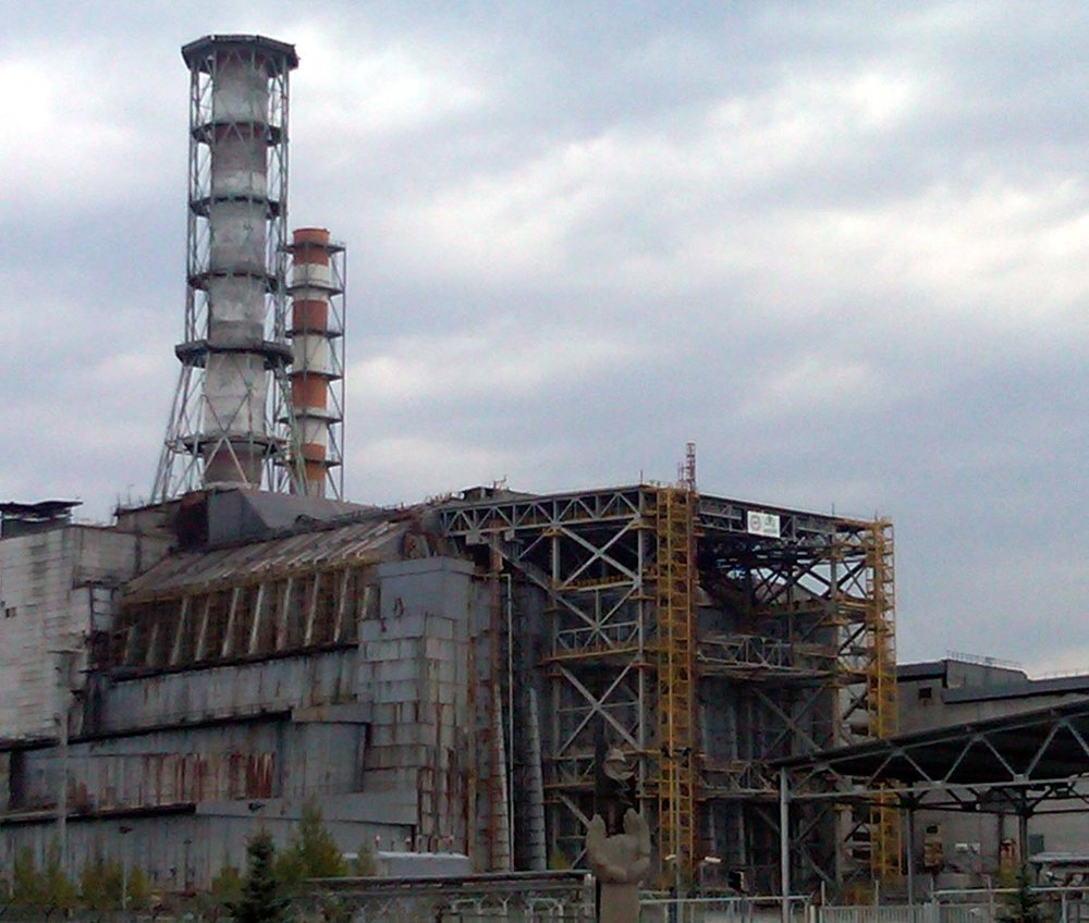 V.I. Lenin Nuclear Power Plant No. 4, exploded 1986