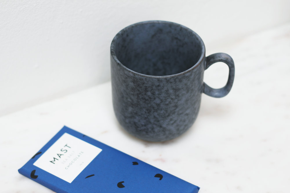 Porcelain Mug - Grey Stone £11.00