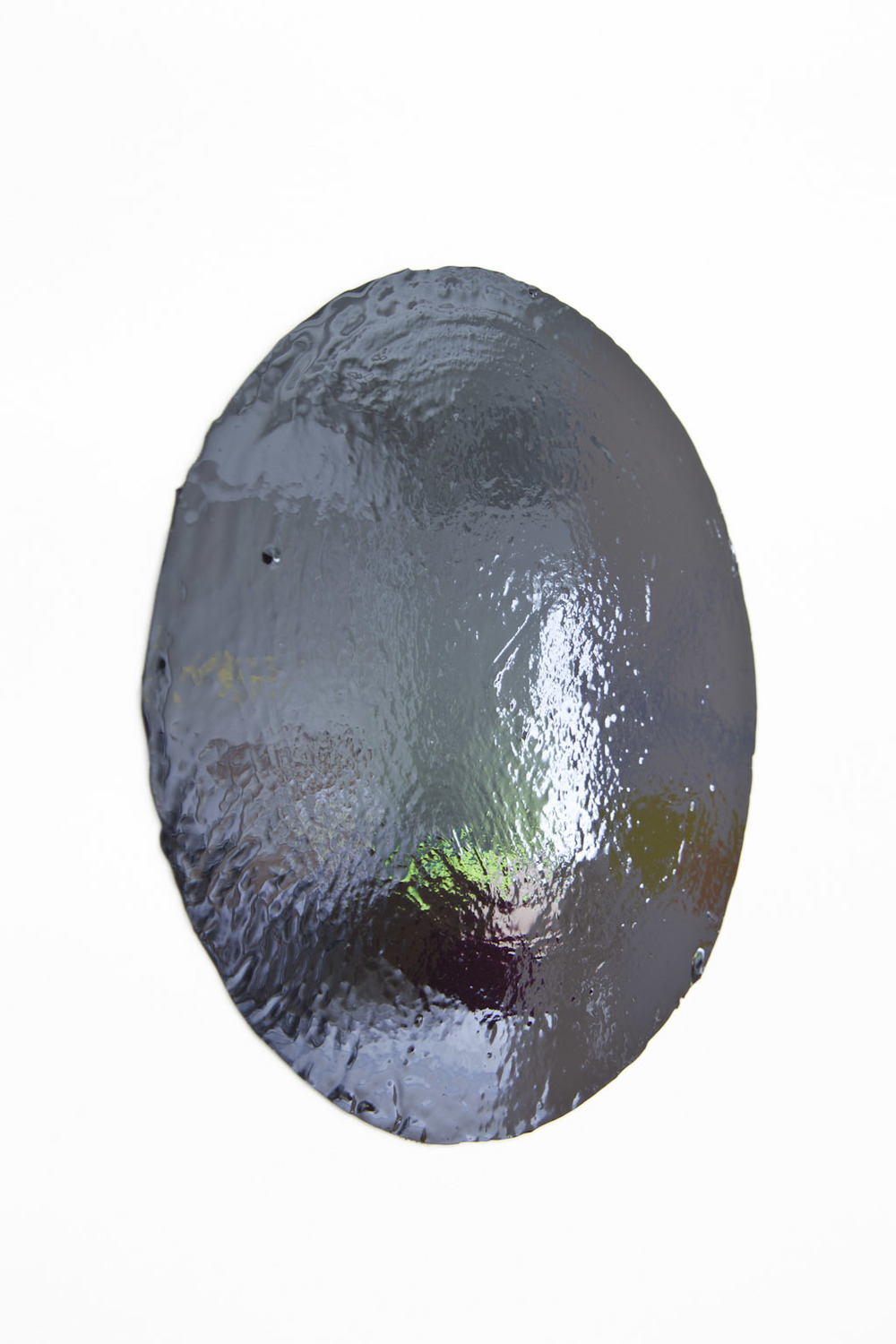 Other Side of Black (Circle/Oval), Chromogenic Print