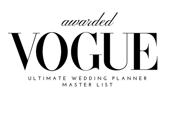 Vogue Wedding Planners Master List