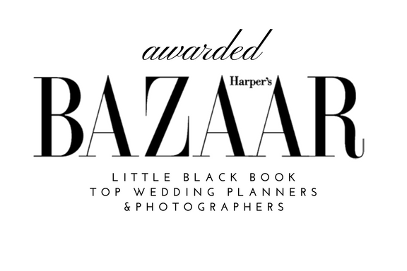 Harper's Bazaar top wedding planner photographer