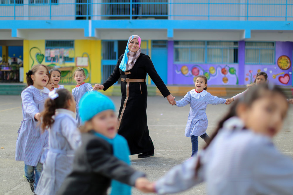 Learn more about CMHP  and  read stories collected by UNRWA USA staff of children who have benefited from the program .