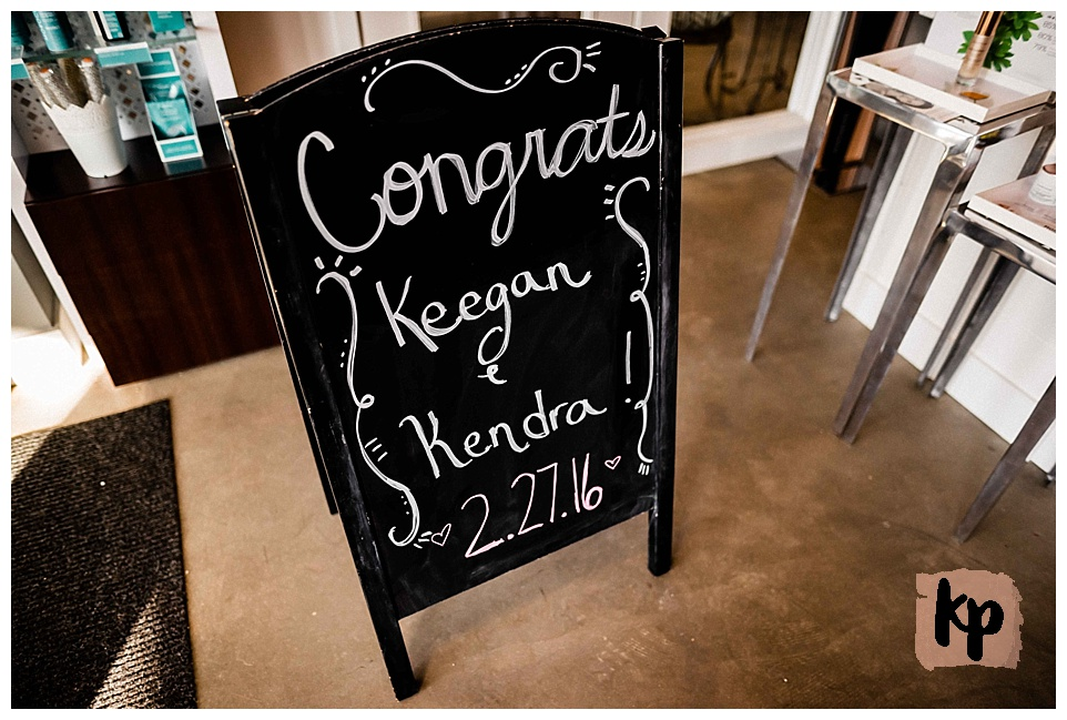 Keegan + Kendra Den Uyl | Just Married #kyleepaigephotography