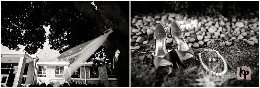 Matthieu + Katlyn | Just Married #kyleepaigephotography