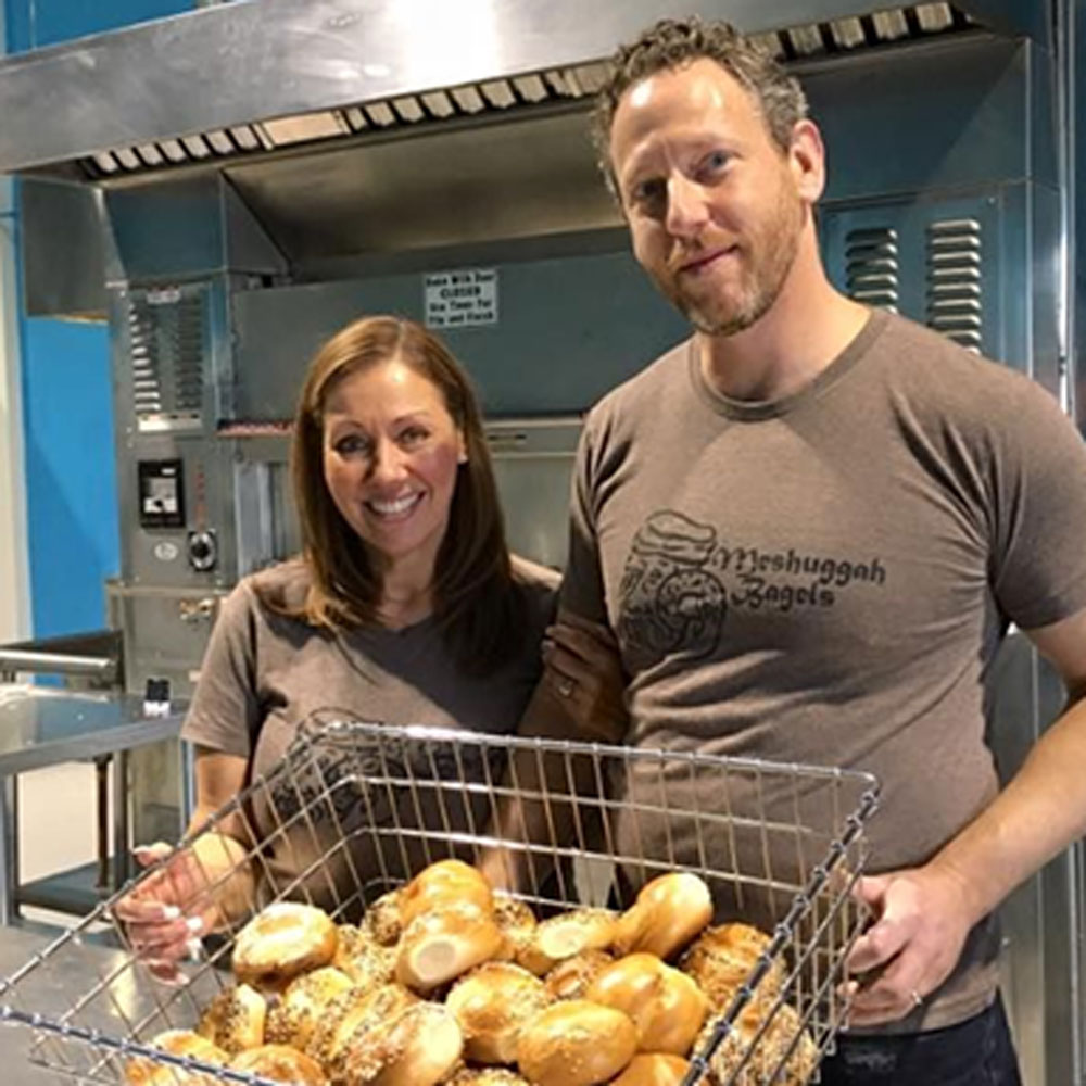 Pete Linde - meshuggah bagels