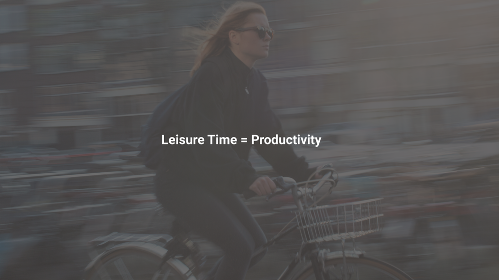 People have to get up and go places. whether it is commuting to work or going to meet a friend. People want to be able to go where they want and where they want as fast as possible, but at the same time be productive during their commute.