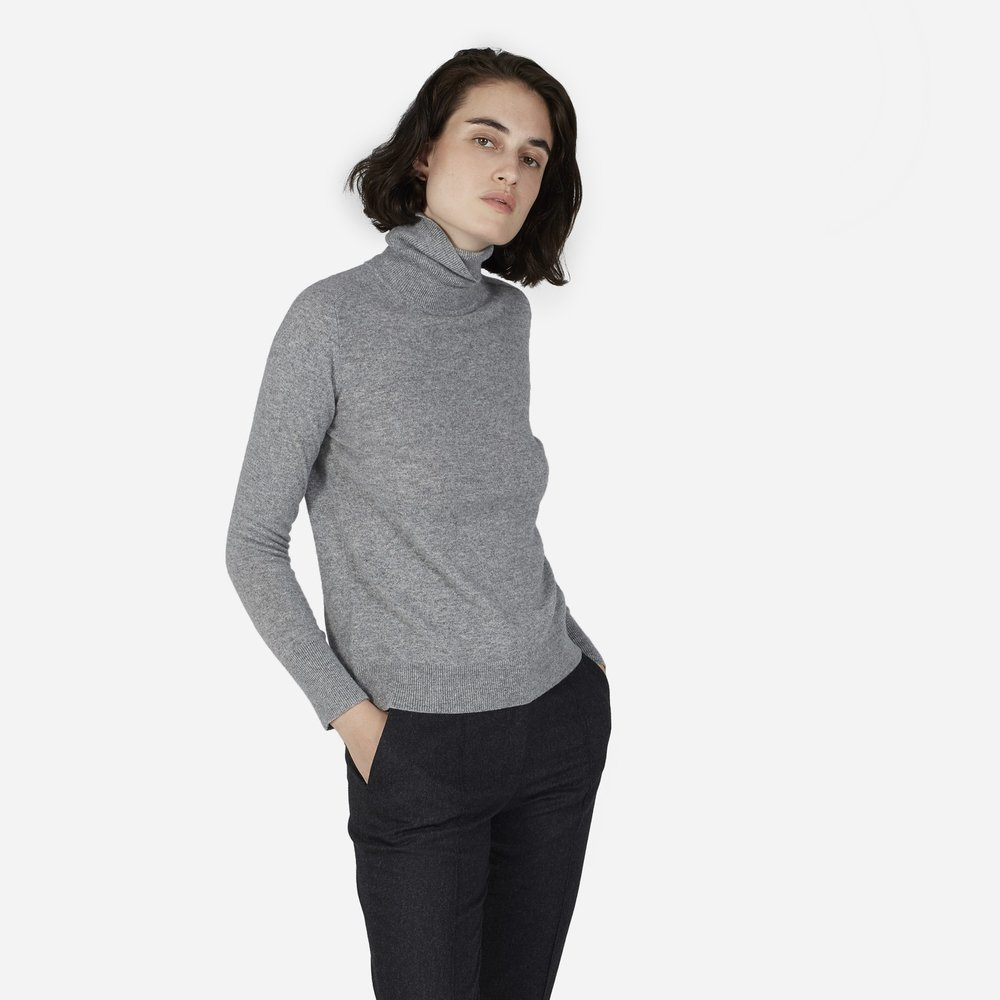 Everlane Cashmere Turtleneck  | $135