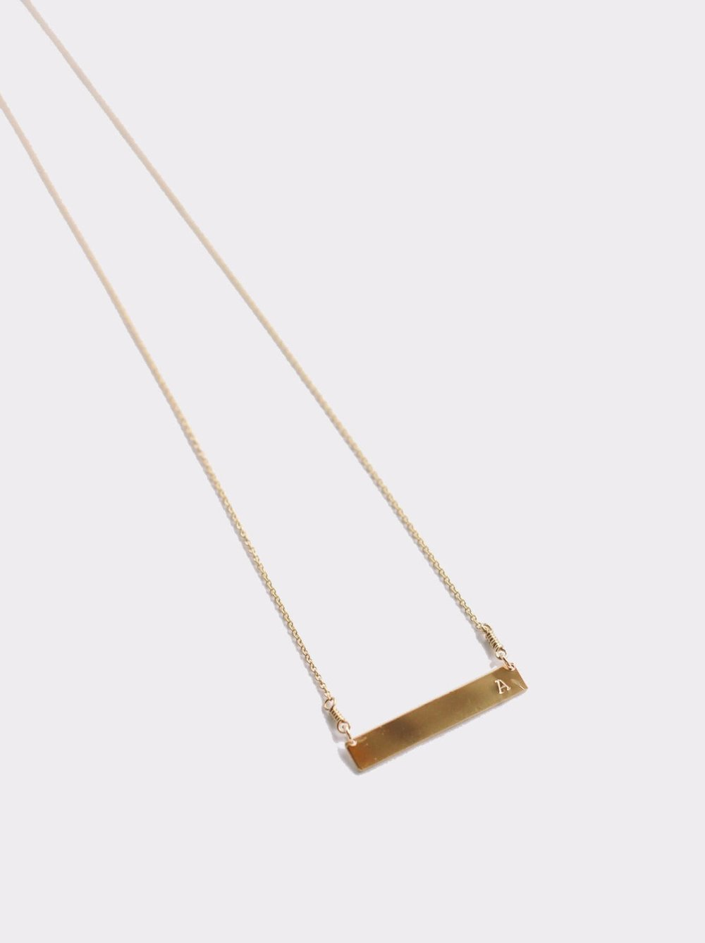 Fashionable Horizon Necklace  | $58