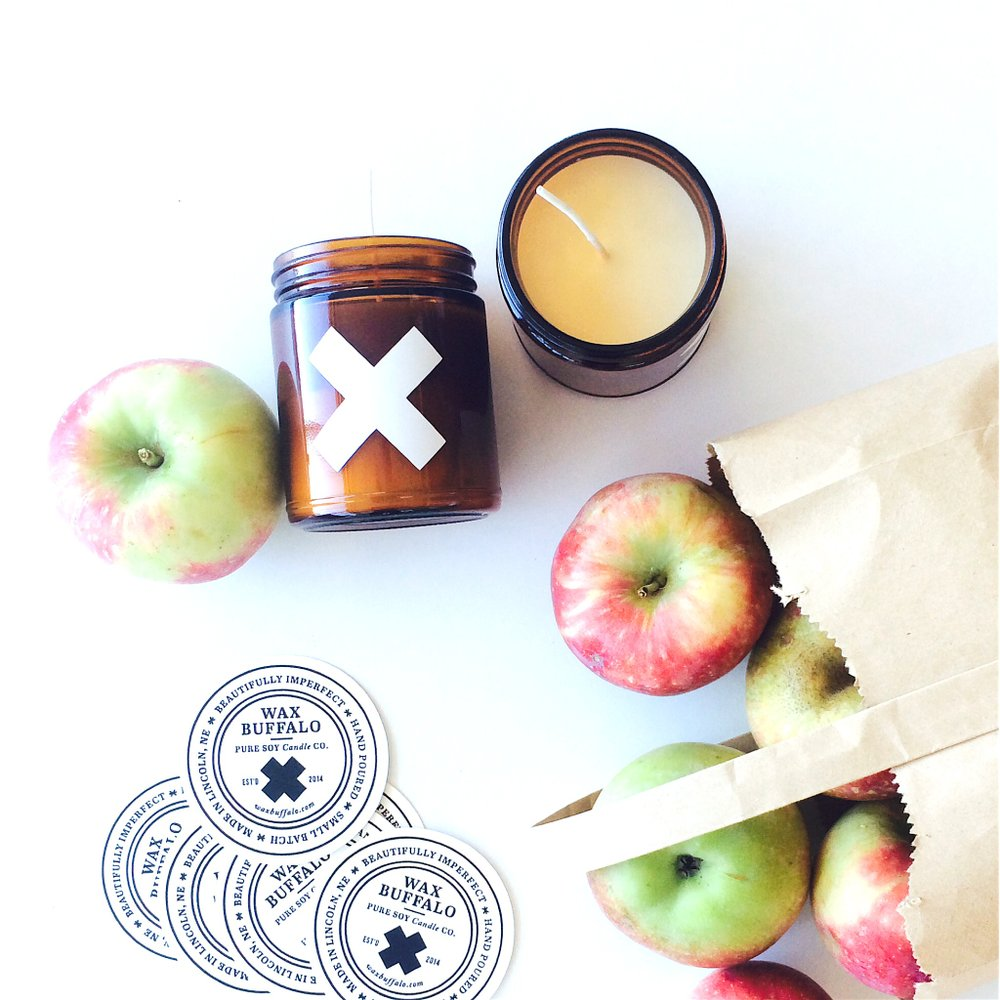 Wax Buffalo Fall Collection - We're in love with these handmade soy candles from Wax Buffalo. This collection includes Autumn, Classic Pumpkin, and The Orchard.They sound so amazing.$22.00