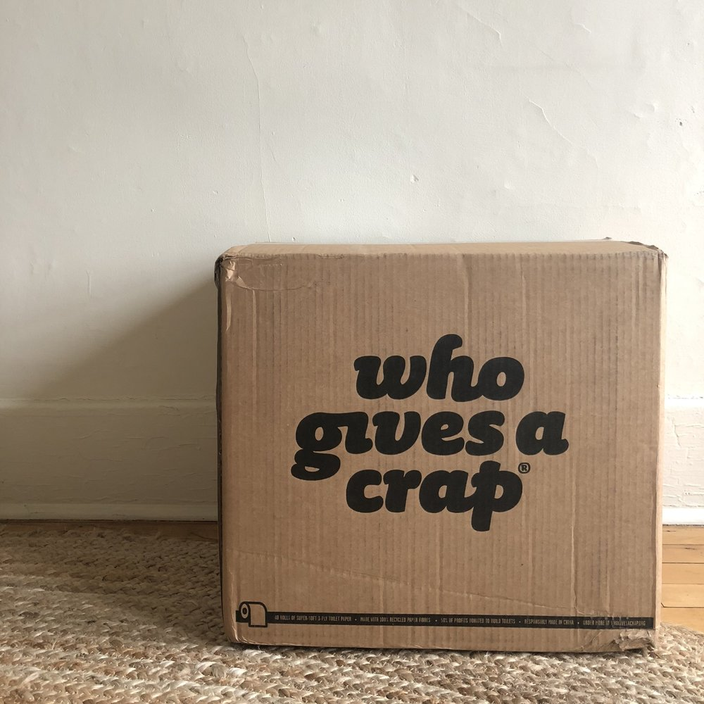 Who Gives A Crap Box, Toilet Paper