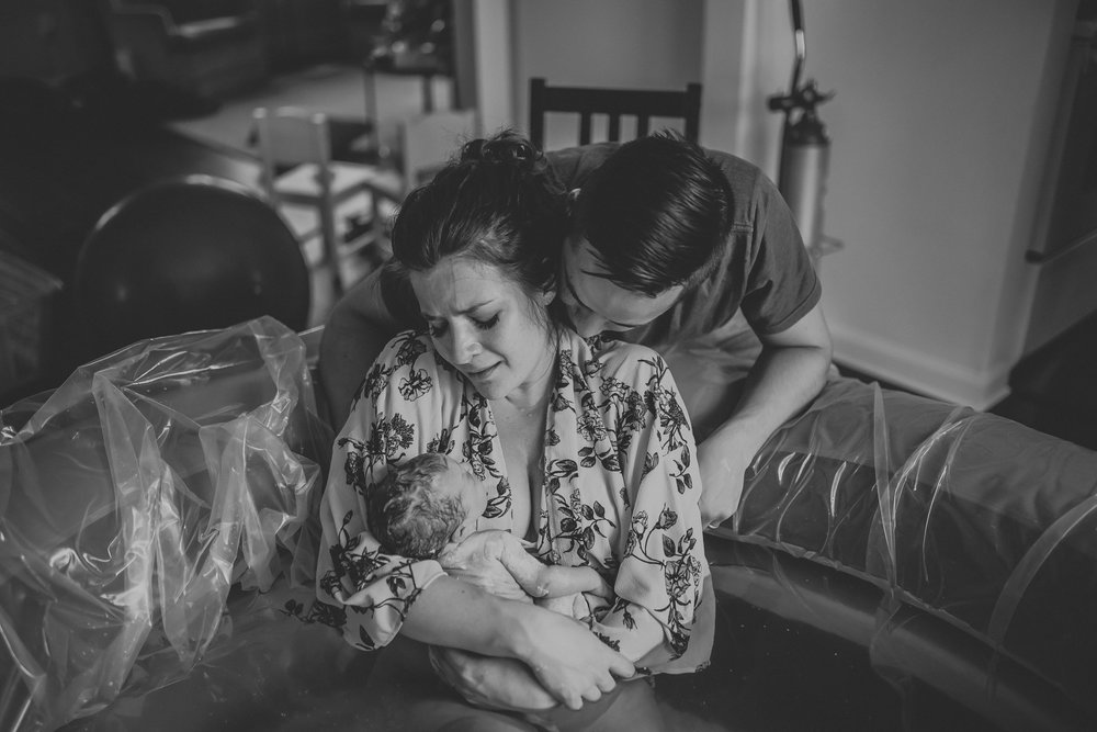 All photos from my sister's third home birth, which I attended as her doula. Photo Credit:  Elmwood Photography  // Birthing Team:  Agape Birth Services