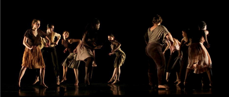 """Subverting Normal #2"" choreographed by Tiffany Rhynard and students, Bates College, 2012."