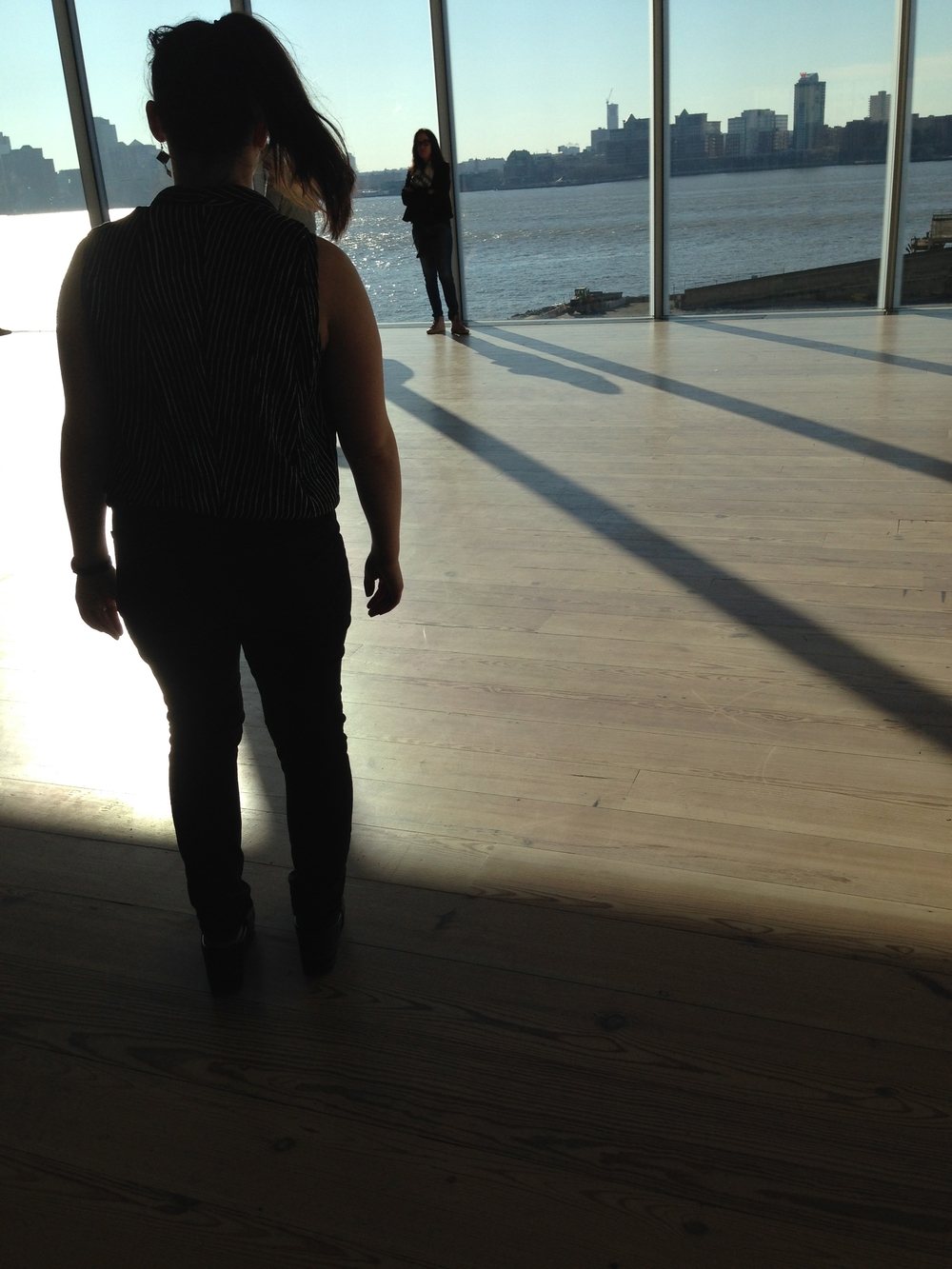 Whitney Museum of Art site-specific dancing, NYC, 2016.