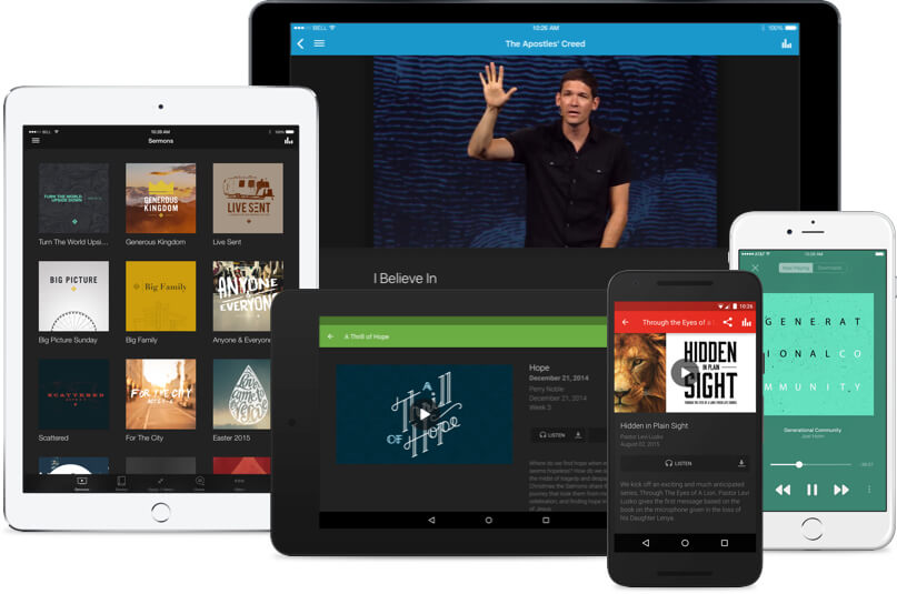 King's Church International Mobile App