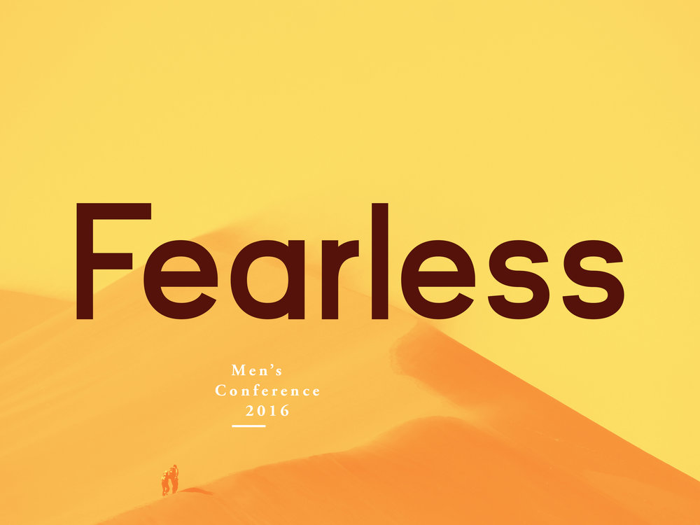Fearless Conference 2016