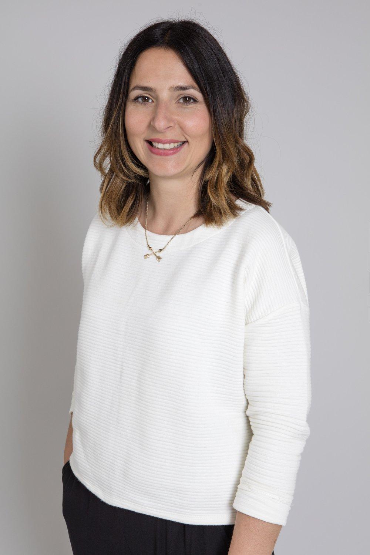 Die Herausgeberin Caterina Meyrat