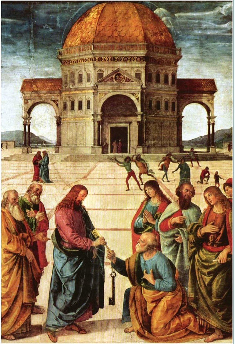 Pietro Yannucci Perugino - 1481-82, Sistine Chapel