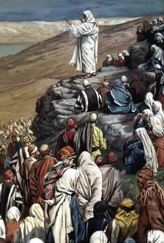 The Beatitudes Sermon                     James Tissot - 1890