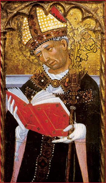 Saint Paulin us of Nola - Luis Borrassa 1414