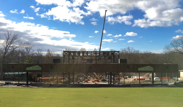 Merriweather post pavilion renovation overviewapril 2016 downtown merriweather post pavilion is a world renowned outdoor amphitheater nestled in the trees of symphony woods in downtown columbia maryland aloadofball Images