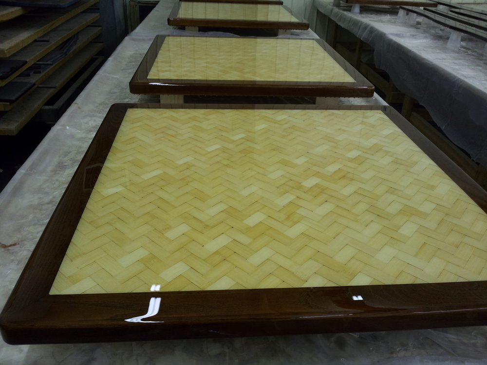 Bambo Epoxy Restaurant Table